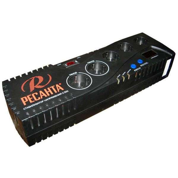 Стабилизатор цифровой Ресанта 500С