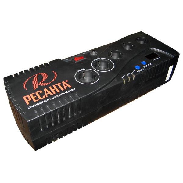 Стабилизатор цифровой Ресанта 1500С