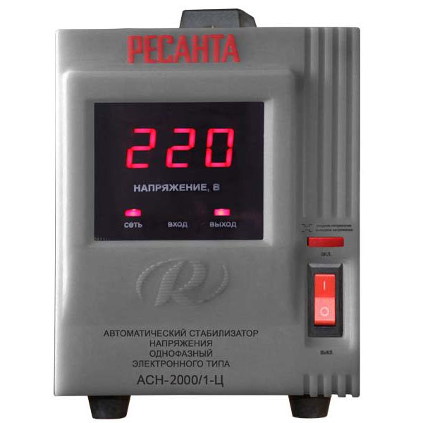 Стабилизатор цифровой Ресанта 2000С