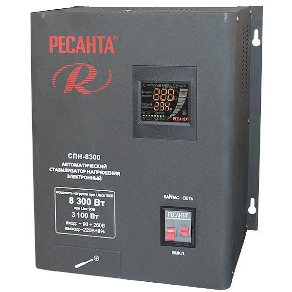 Стабилизатор цифровой Ресанта 8300-СПН
