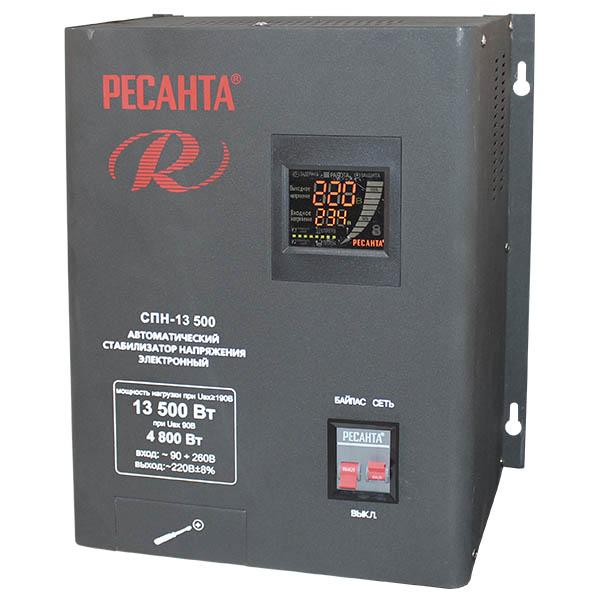 Стабилизатор цифровой Ресанта 13500-СПН