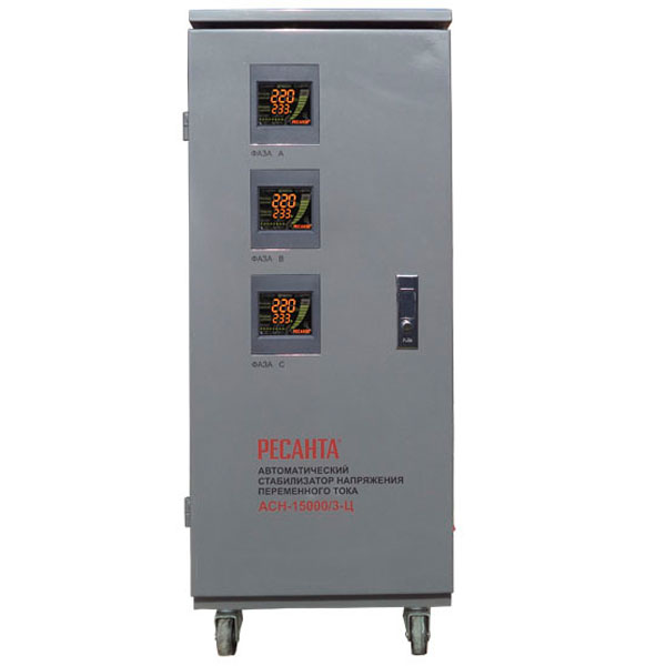 Стабилизатор трехфазный Ресанта АСН-15 000/3-Ц