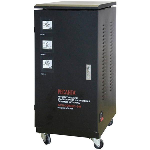 Стабилизатор трехфазный Ресанта 30 000/3 АСН ЭМ