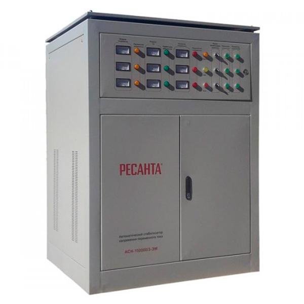 Стабилизатор трехфазный Ресанта 150 000/3 АСН ЭМ