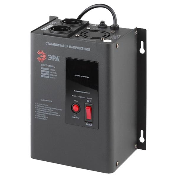Стабилизатор напряжения ЭРА СННТ-1500-Ц