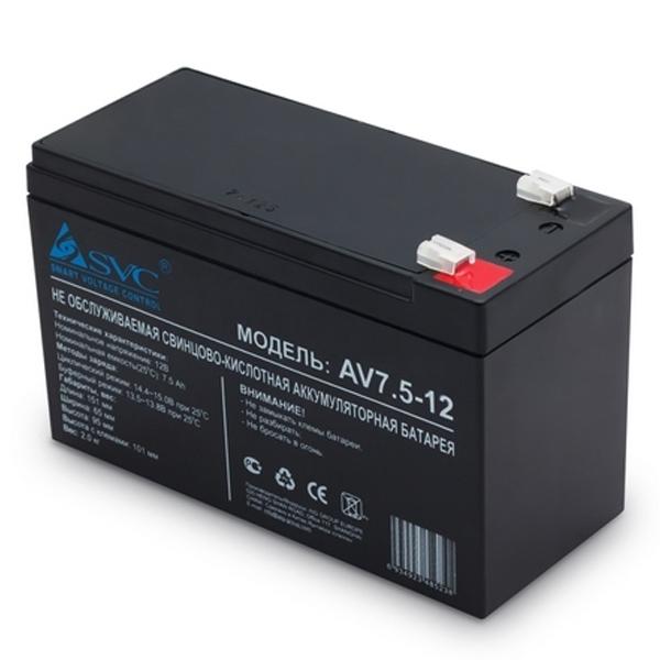 Защита электропитания SVC AV-7.5-12 12В 7.5 Ач
