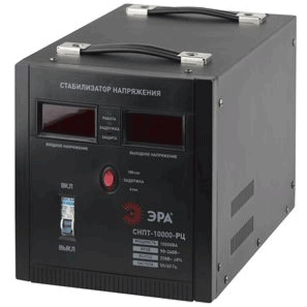 Стабилизатор напряжения ЭРА СНПТ-10000-РЦ