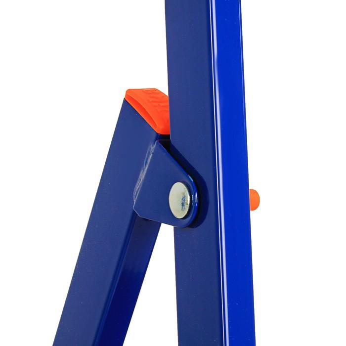 Стремянка Nika СМ3+, для рыхлых поверхностей, высота до рабочей площадки 640 мм, 3 ступени