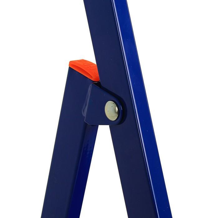 Стремянка Nika СМ4+, для рыхлых поверхностей, высота до рабочей площадки 860 мм, 4 ступени
