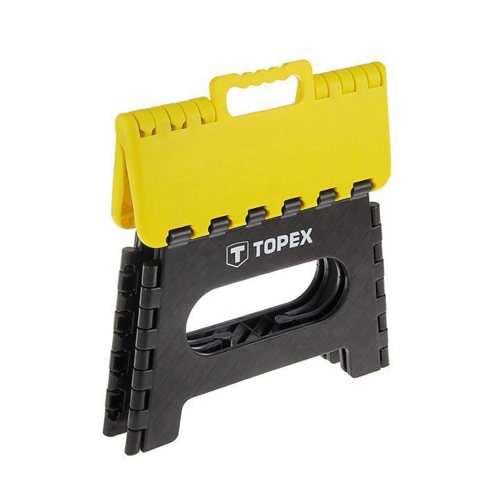 Табурет складной TOPEX, максимальная нагрузка 150 кг, высота 220 мм