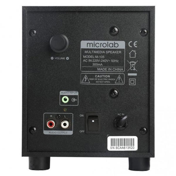 Акустическая система Microlab M-105 Чёрная