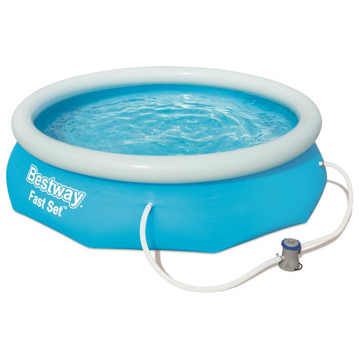 Бассейн надувной Bestway Fast Set (57270)
