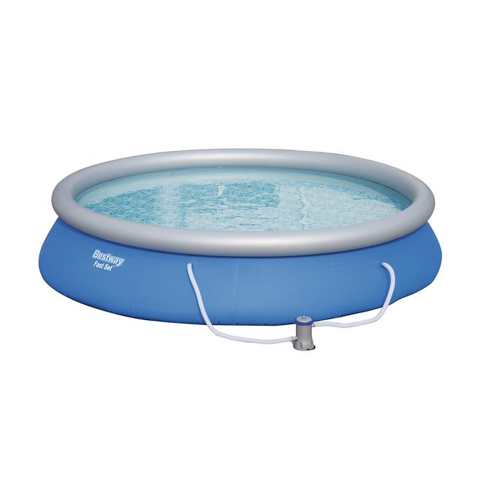 Бассейн Fast Set 457х84 см (в комплекте: насос с фильтром 220V) (57313)