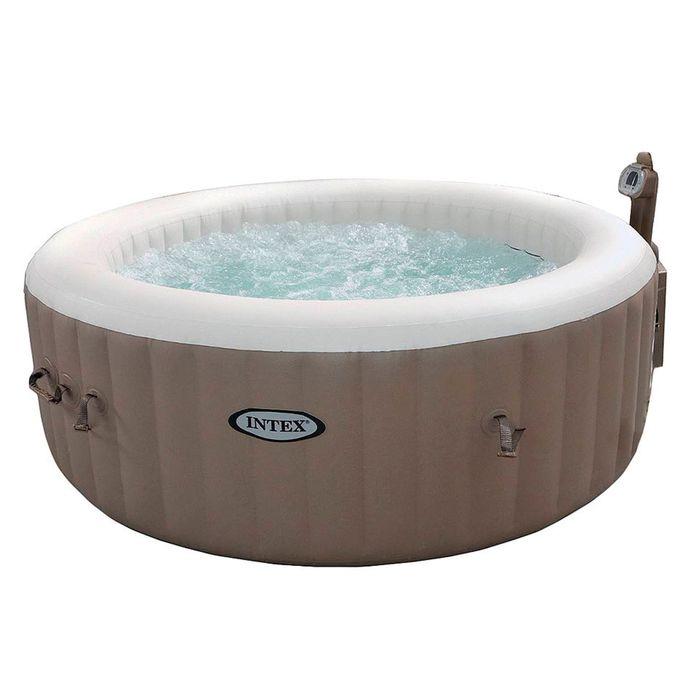 SPA Бассейн надувной Bubble Massage, d= 165 см 28408 INTEX