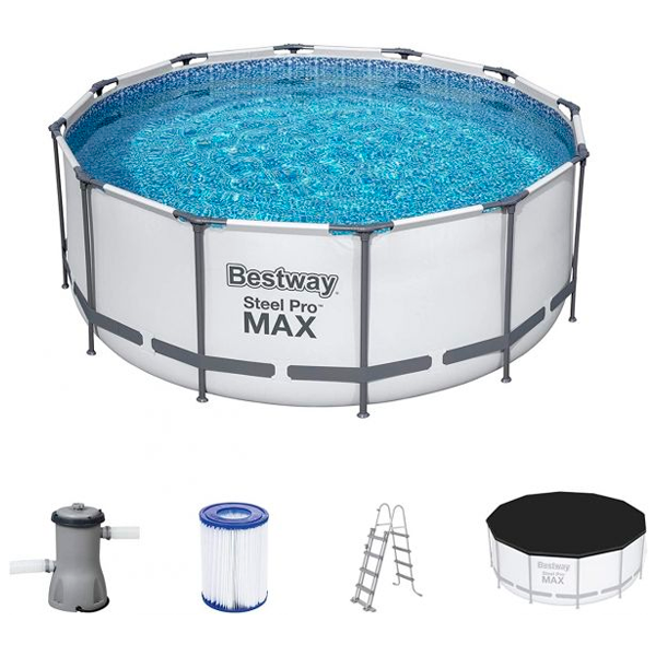 Бассейн каркасный Bestway Steel Pro Max (56420)