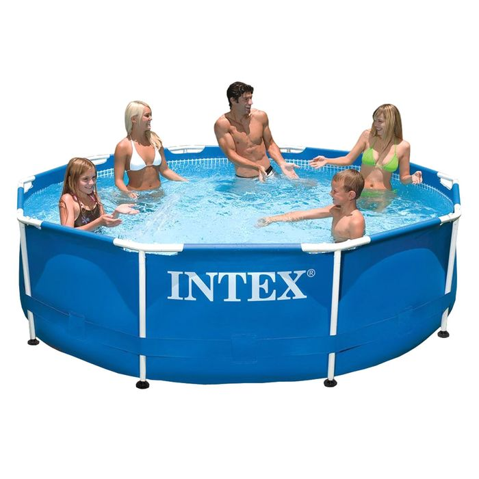 Бассейн каркасный Intex Metal Frame Set 28210