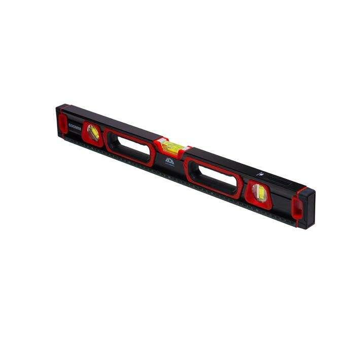 Уровень строительный ADA TITAN 60 PLUS А00510, противоударный, магнитный, 60 см, 0.5 мм/м
