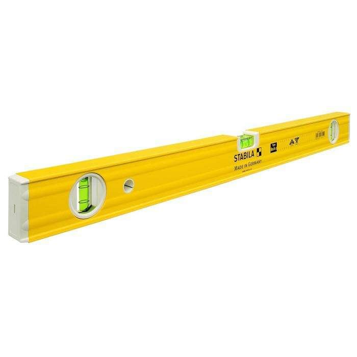Уровень STABILA 16055, тип 80A-2, 60 см, 3 глазка, 0.5 мм/м, над головой 0.75 мм/м