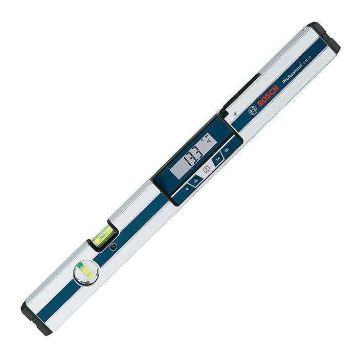 Цифровой уклономер Bosch GIM 60 Prof (0601076700), IP54, 0-360°, подсветка дисплея