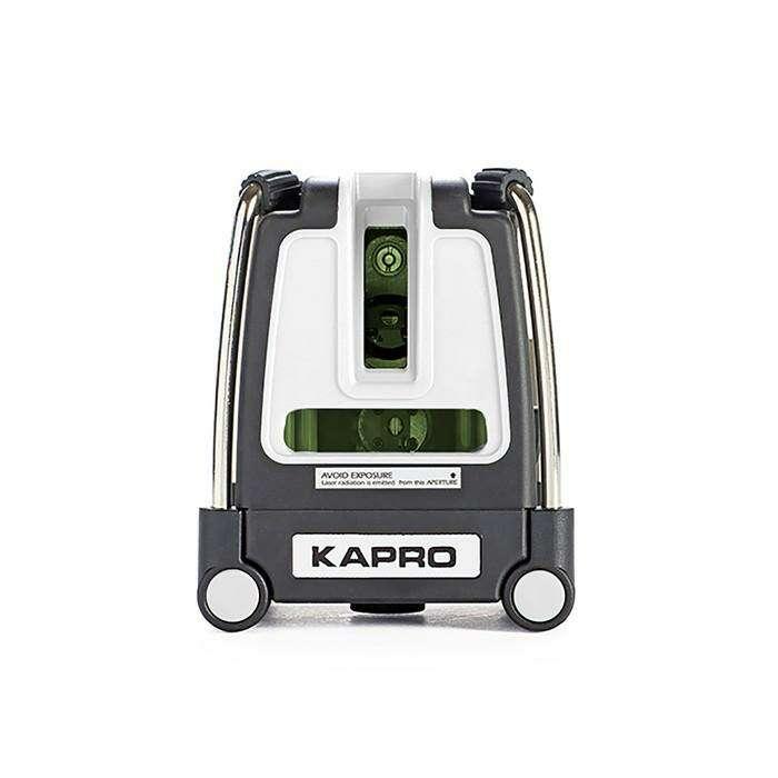 """Лазерный уровень KAPRO 873G, зеленый, 3 луча, 30/60 м, ±0.2 мм/м, ± 3 °, 1/4 """""""
