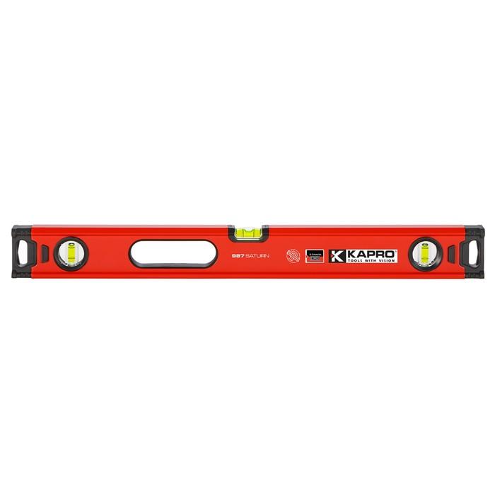 Уровень KAPRO 987XL-41-120, 120 см, 3 полиакриловые колбы, 0.5 мм/м, фрезерованная пов-ть