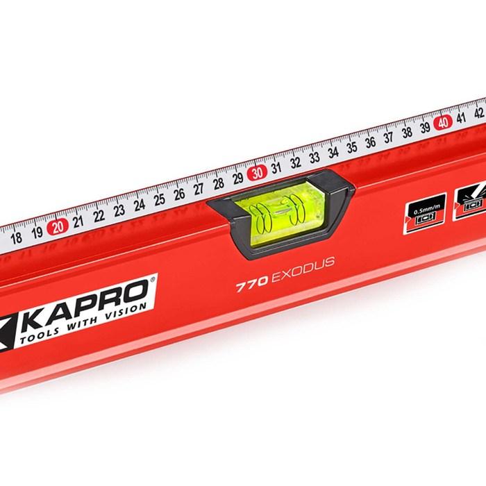 Уровень KAPRO 770-42-60, с линейкой, 600 мм
