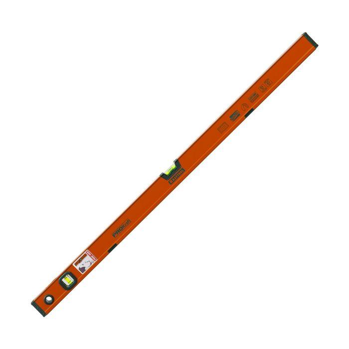 Уровень KRAFTOOL KRAFT-MAX магнитный, усиленый, 2 ампулы, 2 фрезерованный, 100 см