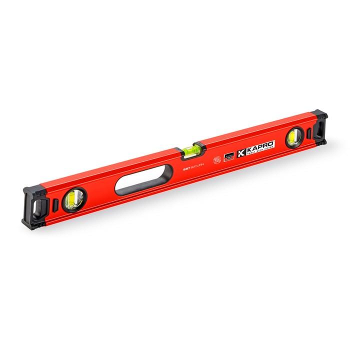 Уровень KAPRO 987XL-41-150M, магнитный, 150 см, 3 полиакриловые колбы, 0.5 мм/м