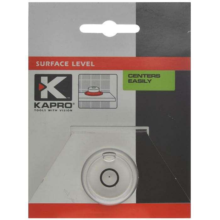 """Уровень KAPRO """"Бычий глаз"""" 240-01, пузырьковый, поверхностный"""