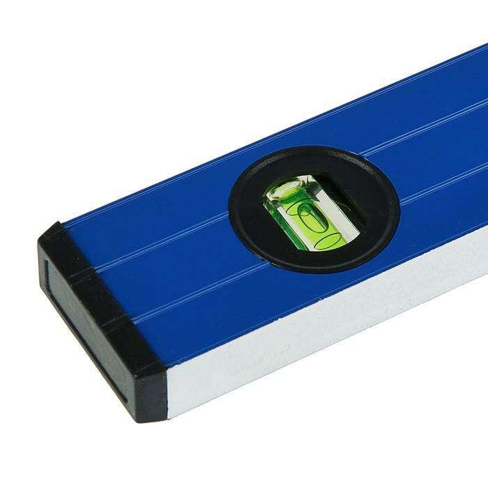 Уровень алюминиевый TUNDRA comfort, 3 глазка (1 поворотный глазок), 120 см