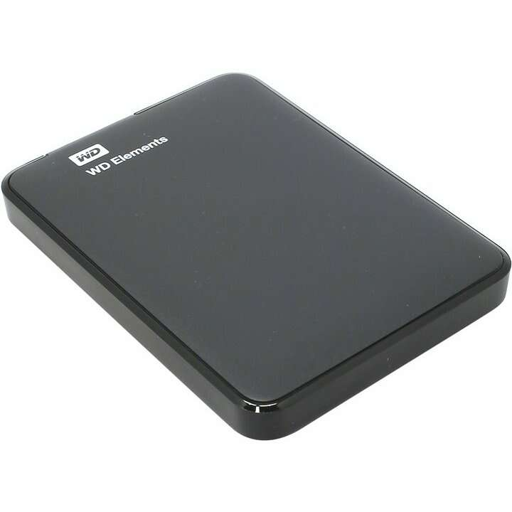 Внешний жесткий диск WESTERN DIGITAL  WDBUZG5000ABK-WESN / 500 ГБ (Black),