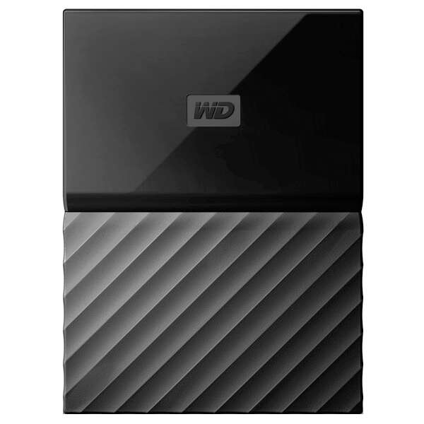 Внешний жесткий диск Western Digital My Passport WDBBEX0010BBK-EEUE, 1 Tb