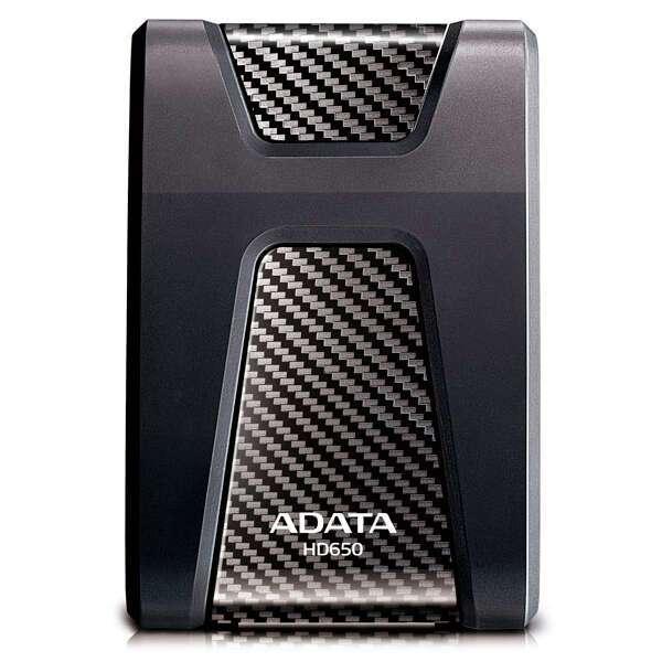 Внешний жесткий диск HDD Adata 650 AHD650-1TU3-CBK