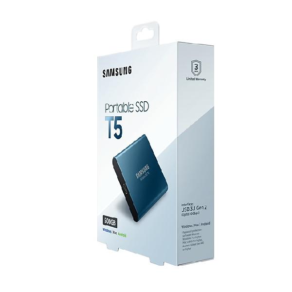 Внешний SSD Samsung 500 Гб (MU-PA500B/WW)
