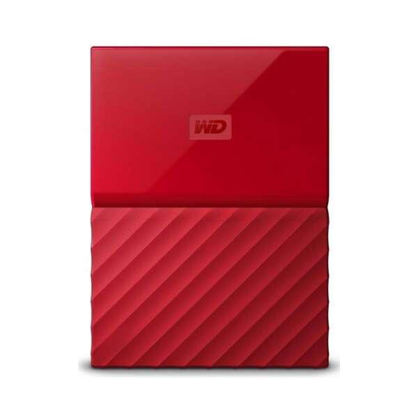 Внешний жесткий диск Western Digital My Passport 4000 Гб Red (WDBUAX0040BRD-EEUE)