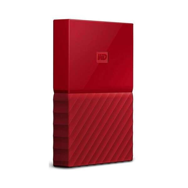 Внешний жесткий диск Western Digital My Passport 4000 Гб Red (WDBUAX0040BRD-EEUE)