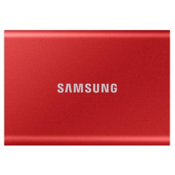 Внешний жесткий диск Samsung Portable SSD T7 (MU-PC1T0RWW)