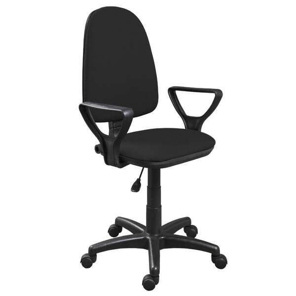 Офисное кресло Zeta Престиж Н гобелен (Черный)
