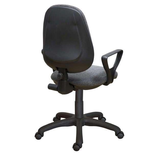 Офисное кресло Zeta Фиат Н гобелен цвет серый