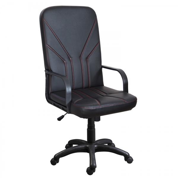 Офисное кресло Zeta Маджестик кожзам цвет черный