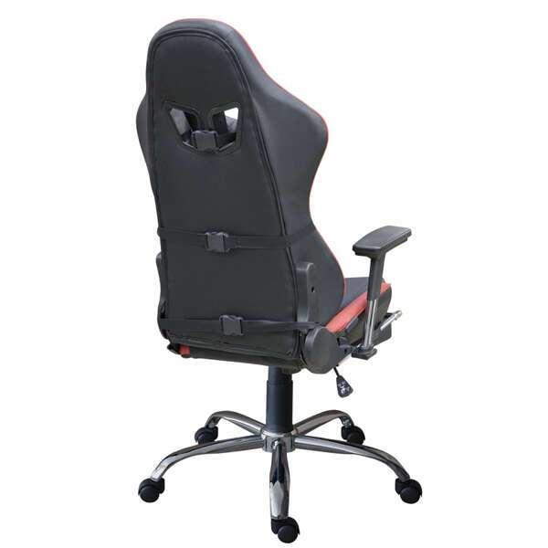 Геймерское кресло Zeta Strike Turbo черно-красное