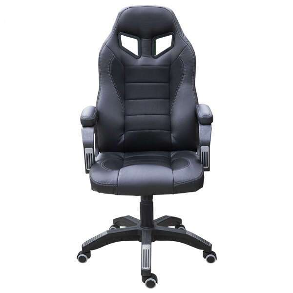 Геймерское кресло Zeta Эдвард черный