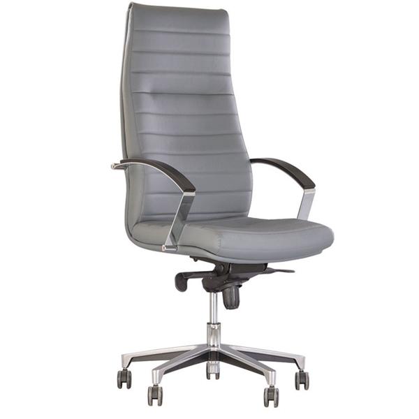 Кресло для руководителя Nowy Styl Iris Steel Chrome ECO-70 1.043