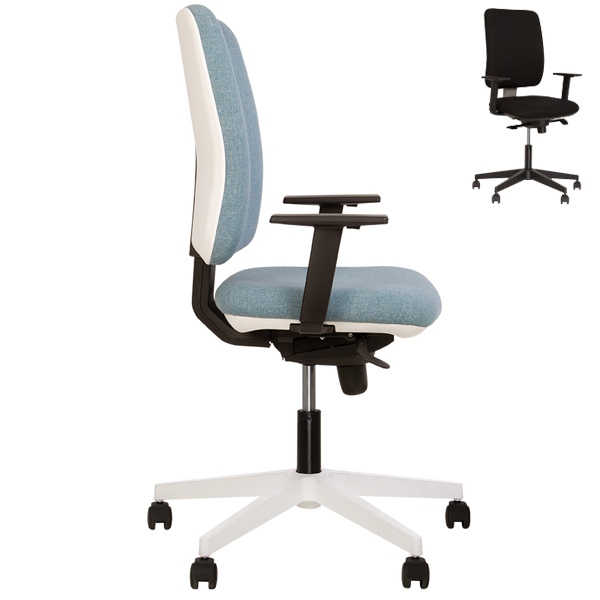 Кресло для персонала Nowy Styl Smart R Black ES PL70 LS-06