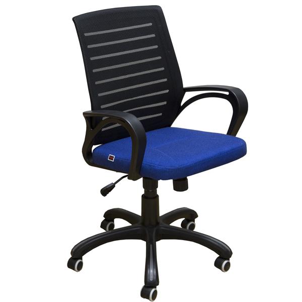 Офисное кресло Zeta МИ-6 (Синий/черный)