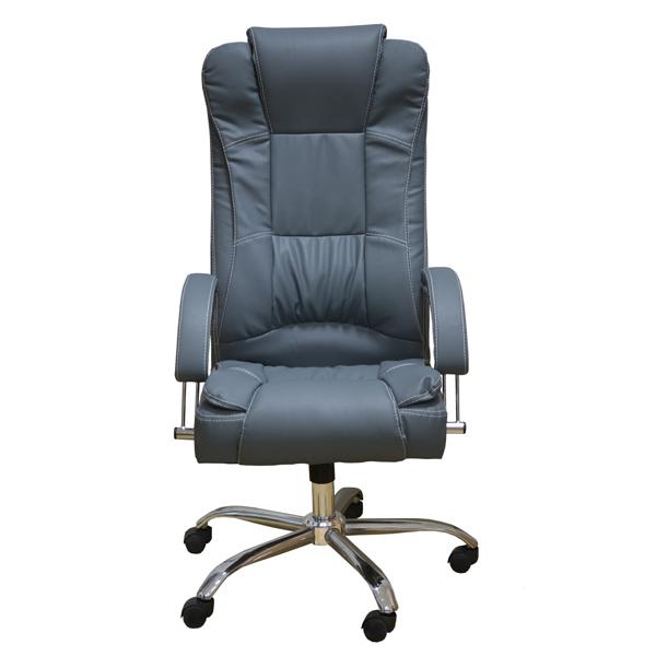 Представительское кресло Zeta Мажор цвет серый