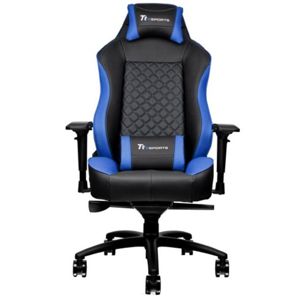 Игровое компьютерное кресло Thermaltake GTC 500 (Black/Blue)