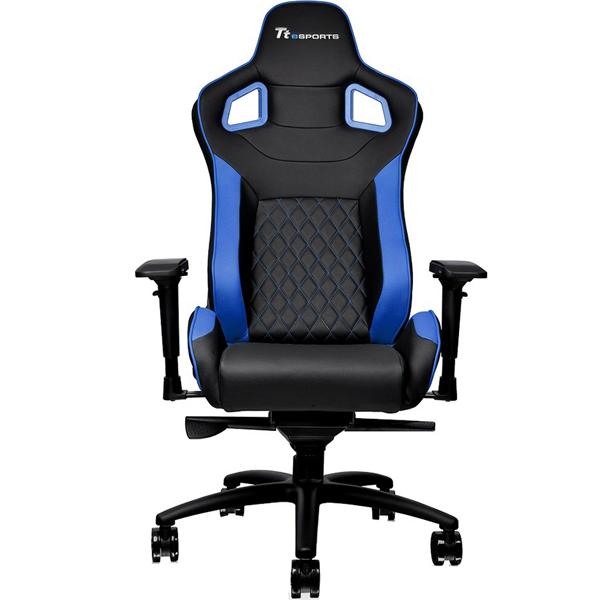 Игровое компьютерное кресло Thermaltake GTF 100 (Black/Blue)