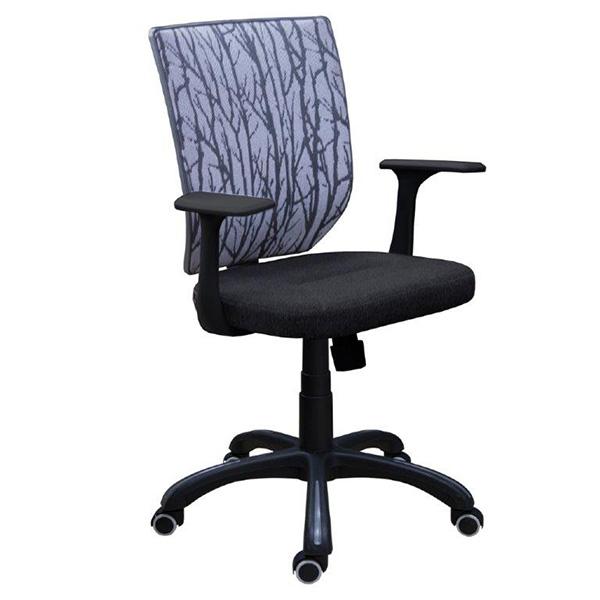 Офисное кресло Zeta М-16 (черно-серое)
