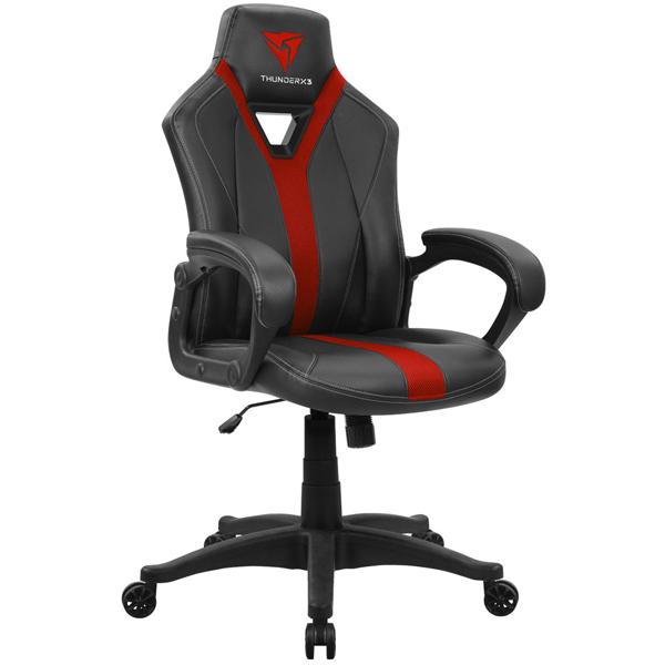 Игровое компьютерное кресло ThunderX3 YC1 BR (Черный/красный)